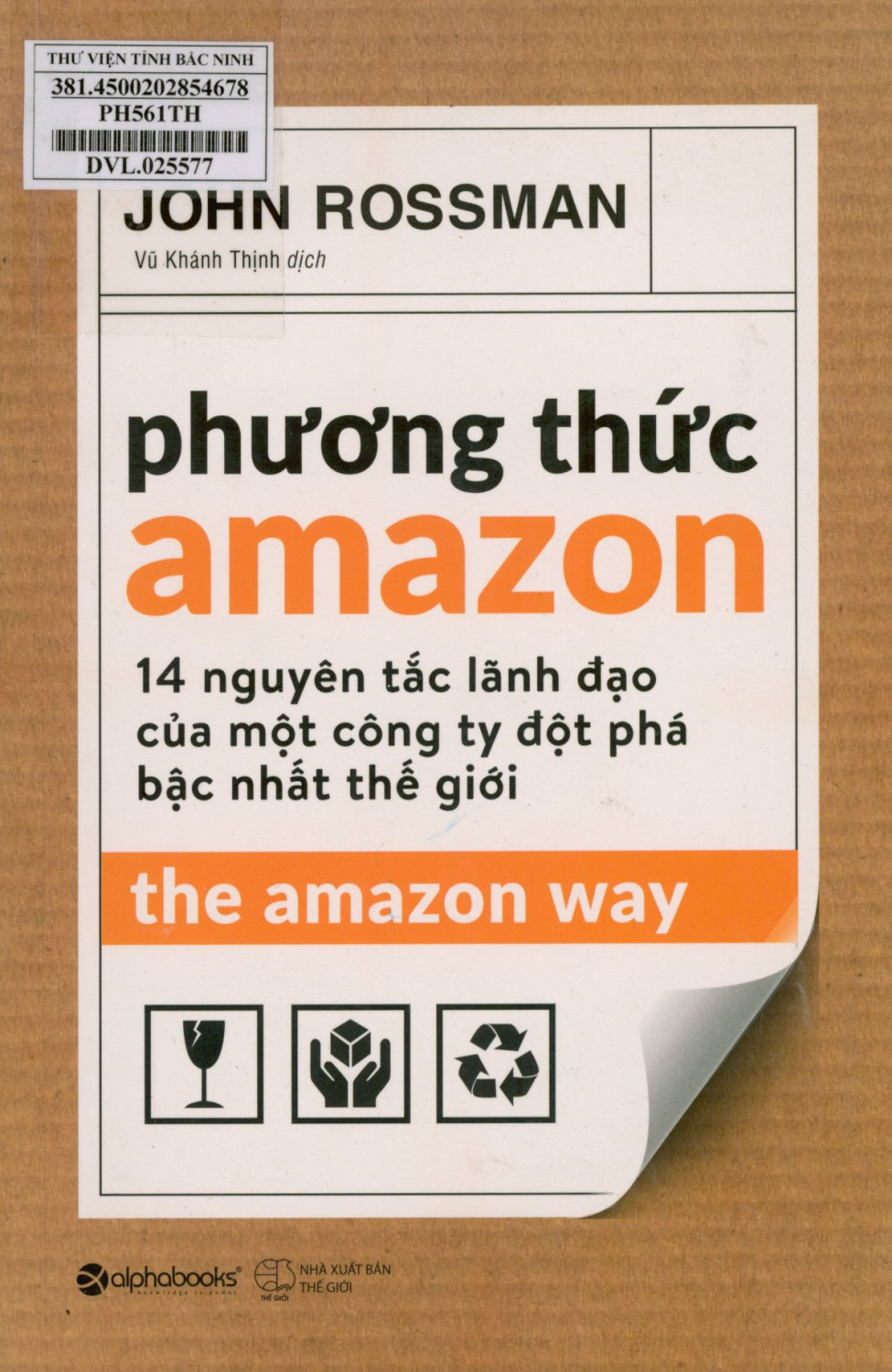 Phương thức Amazon = The Amazon way