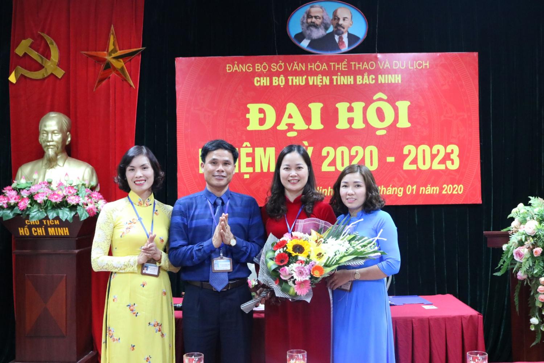ĐẠI HỘI CHI BỘ THƯ VIỆN TỈNH BẮC NINH - NHIỆM KỲ 2020-2023