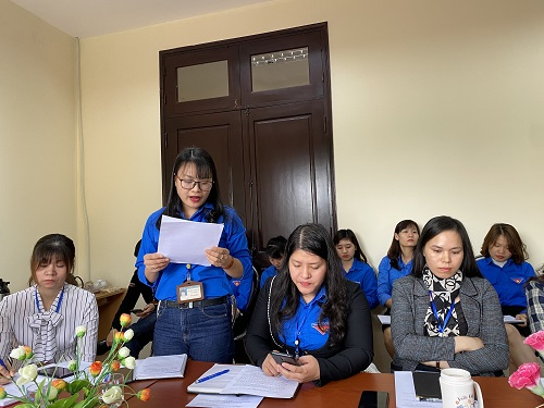 Ý kiến tham luận của các đoàn viên Chi đoàn Thư viện tỉnh Bắc Ninh