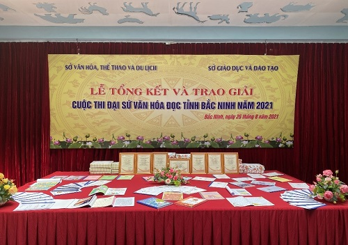 """Bài dự thi """"Đại sứ Văn hóa đọc tỉnh Bắc Ninh - Năm 2021"""""""